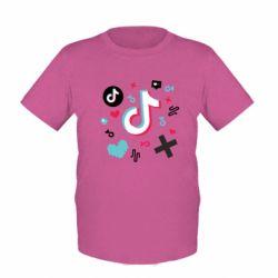 Дитяча футболка Icons TIK TOK