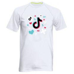 Чоловіча спортивна футболка Icons TIK TOK