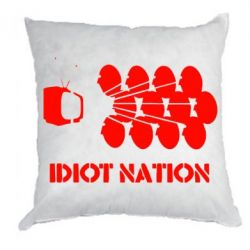 Подушка Idiot Nation - FatLine