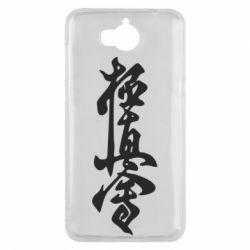 Чехол для Huawei Y5 2017 Иероглиф - FatLine