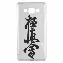 Чехол для Samsung A5 2015 Иероглиф - FatLine