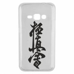 Чехол для Samsung J1 2016 Иероглиф - FatLine
