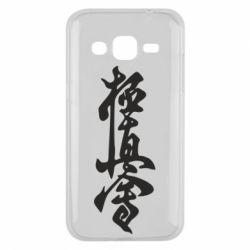 Чехол для Samsung J2 2015 Иероглиф - FatLine