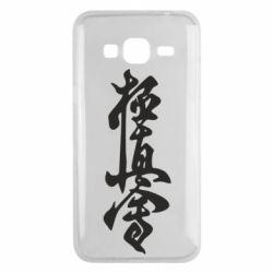 Чехол для Samsung J3 2016 Иероглиф - FatLine