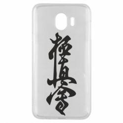 Чехол для Samsung J4 Иероглиф - FatLine