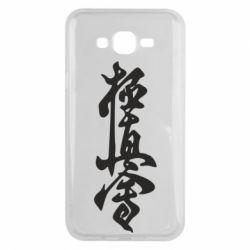 Чехол для Samsung J7 2015 Иероглиф - FatLine