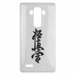 Чехол для LG G4 Иероглиф - FatLine