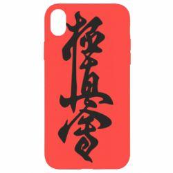 Чехол для iPhone XR Иероглиф