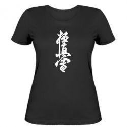 Жіноча футболка Ієрогліф - FatLine