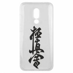 Чехол для Meizu 16x Иероглиф - FatLine