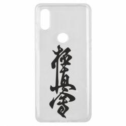 Чехол для Xiaomi Mi Mix 3 Иероглиф - FatLine