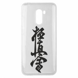 Чехол для Xiaomi Pocophone F1 Иероглиф - FatLine