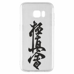Чехол для Samsung S7 EDGE Иероглиф - FatLine