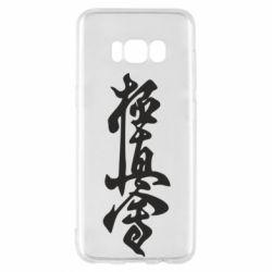 Чехол для Samsung S8 Иероглиф - FatLine