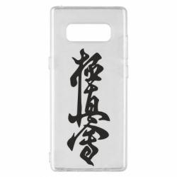 Чехол для Samsung Note 8 Иероглиф - FatLine