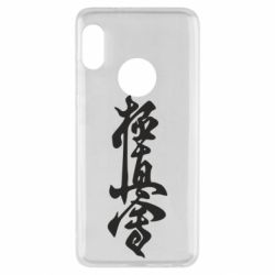 Чехол для Xiaomi Redmi Note 5 Иероглиф - FatLine