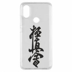 Чехол для Xiaomi Mi A2 Иероглиф - FatLine
