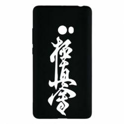 Чехол для Xiaomi Mi Note 2 Иероглиф - FatLine