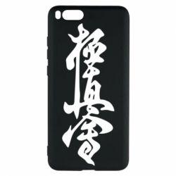 Чехол для Xiaomi Mi Note 3 Иероглиф - FatLine