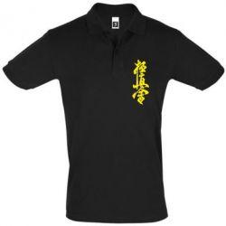 Мужская футболка поло Иероглиф