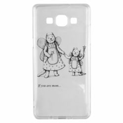 Чехол для Samsung A5 2015 If you are mom text