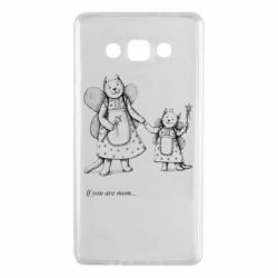Чехол для Samsung A7 2015 If you are mom text