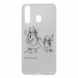 Чехол для Samsung A60 If you are mom text
