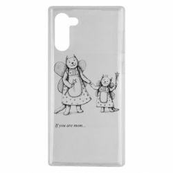 Чехол для Samsung Note 10 If you are mom text