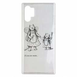 Чехол для Samsung Note 10 Plus If you are mom text