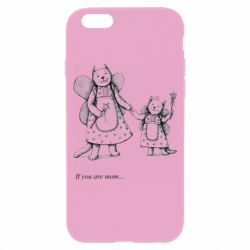 Чехол для iPhone 6/6S If you are mom text