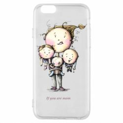 Чехол для iPhone 6/6S If you are mom