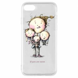 Чехол для iPhone 8 If you are mom