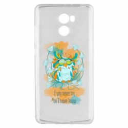 Чехол для Xiaomi Redmi 4 If you never try, you will never know art
