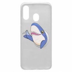 Чехол для Samsung A40 Ikea Shark Blahaj