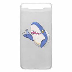 Чехол для Samsung A80 Ikea Shark Blahaj