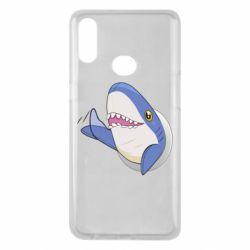 Чехол для Samsung A10s Ikea Shark Blahaj