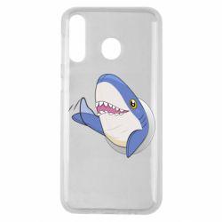 Чехол для Samsung M30 Ikea Shark Blahaj