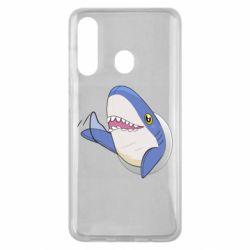 Чехол для Samsung M40 Ikea Shark Blahaj