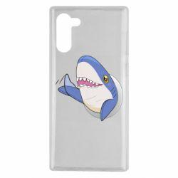 Чехол для Samsung Note 10 Ikea Shark Blahaj