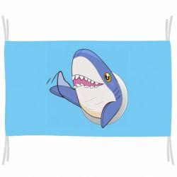 Флаг Ikea Shark Blahaj