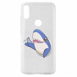 Чехол для Xiaomi Mi Play Ikea Shark Blahaj