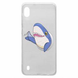 Чехол для Samsung A10 Ikea Shark Blahaj