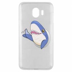Чехол для Samsung J4 Ikea Shark Blahaj