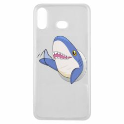 Чехол для Samsung A6s Ikea Shark Blahaj