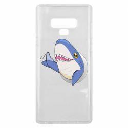 Чехол для Samsung Note 9 Ikea Shark Blahaj
