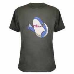 Камуфляжная футболка Ikea Shark Blahaj