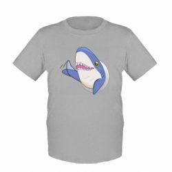 Детская футболка Ikea Shark Blahaj