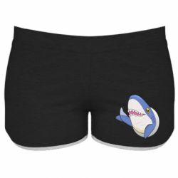Женские шорты Ikea Shark Blahaj