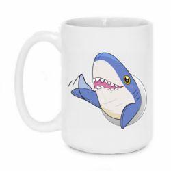 Кружка 420ml Ikea Shark Blahaj