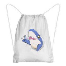 Рюкзак-мешок Ikea Shark Blahaj